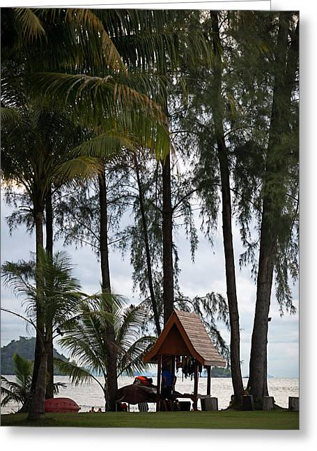 Thailand Andaman Island Greeting Card