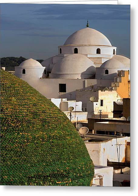 Tunis Greeting Card by Lucas Vallecillos - Vwpics