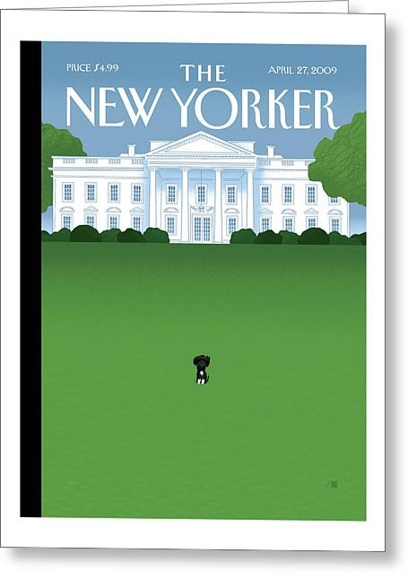 New Yorker April 27th, 2009 Greeting Card
