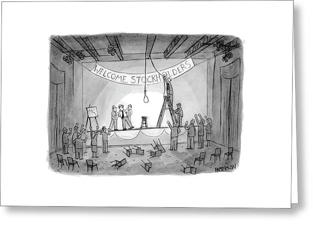 New Yorker May 29th, 2006 Greeting Card by Jason Patterson