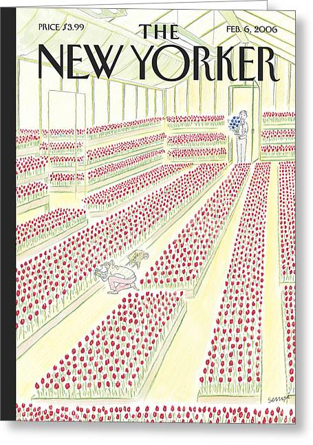 New Yorker February 6th, 2006 Greeting Card