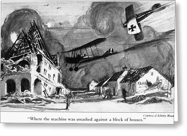 World War I Aerial Combat Greeting Card