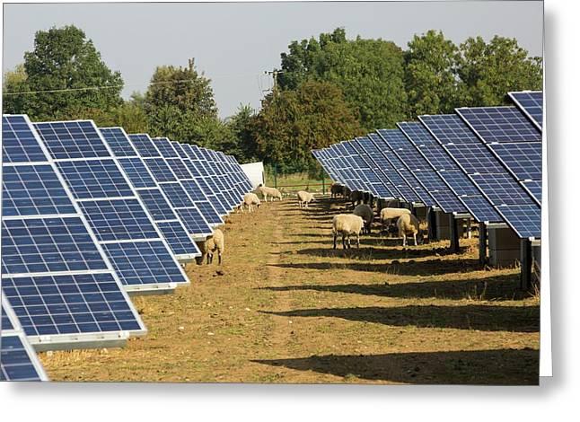 Wymeswold Solar Farm Greeting Card