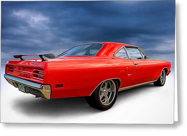 '70 Roadrunner Greeting Card by Douglas Pittman