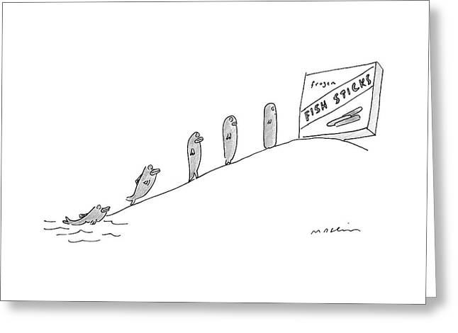 New Yorker December 3rd, 2007 Greeting Card