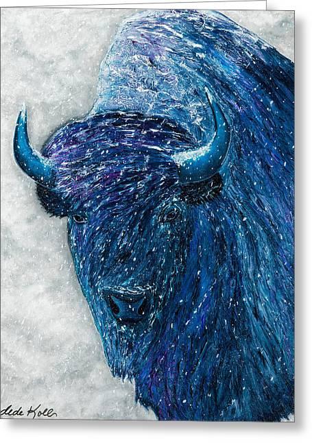 Buffalo  - Ready For Winter Greeting Card
