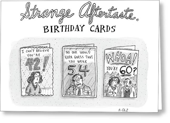 New Yorker October 30th, 2006 Greeting Card