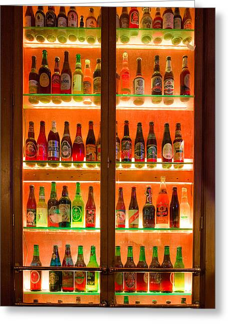 76 Bottles Of Beer Greeting Card by Semmick Photo