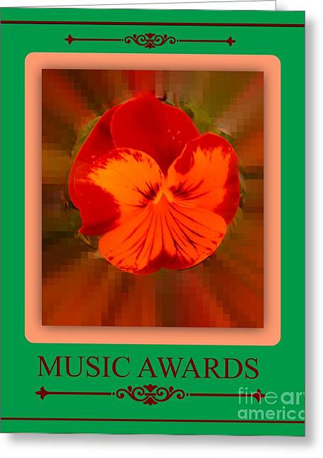 Music Awards Greeting Card by Meiers Daniel