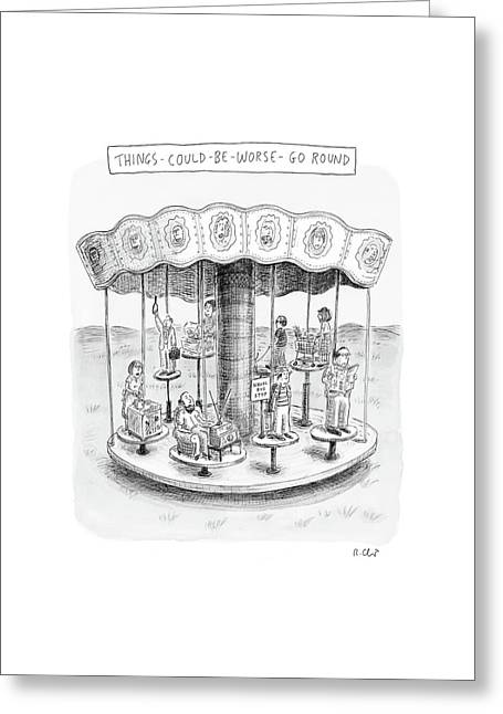 New Yorker October 9th, 2006 Greeting Card by Roz Chast
