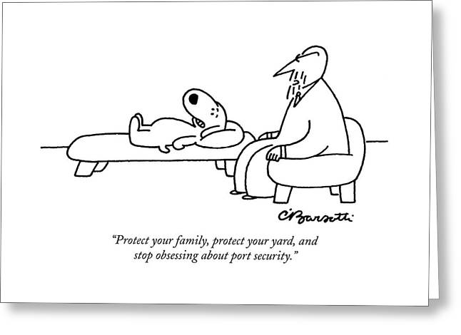Protect Your Family Greeting Card
