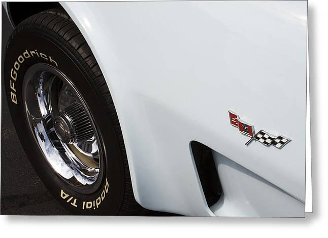 '78 Vette Greeting Card by Mike Maher