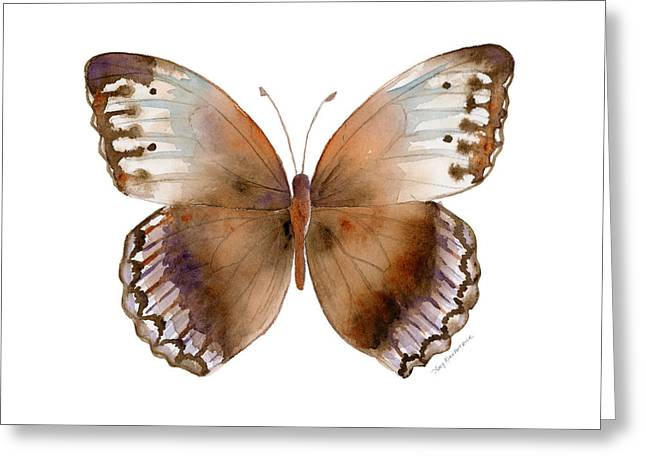 79 Jungle Queen Butterfly Greeting Card