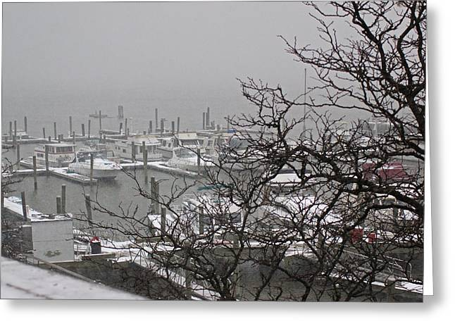79th Street Boat Basin Greeting Card