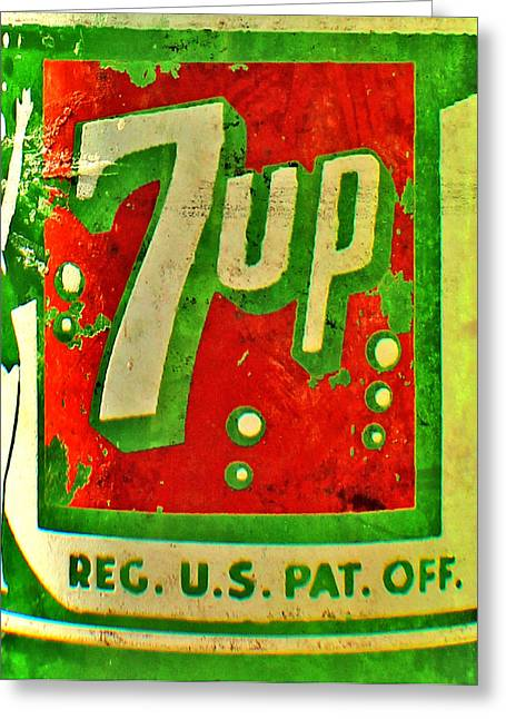 7up Greeting Card