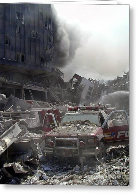 9-11-01 Wtc Terrorist Attack Greeting Card