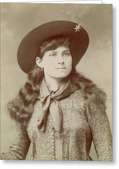 Annie Oakley (1860-1926) Greeting Card
