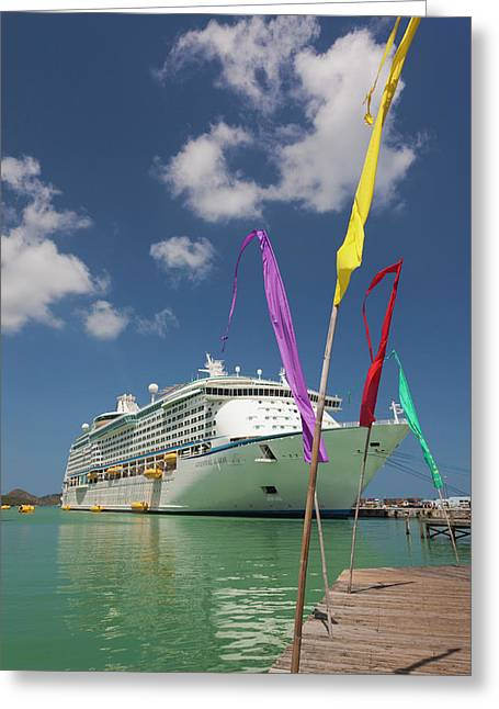 Antigua And Barbuda, Antigua, St Greeting Card by Walter Bibikow
