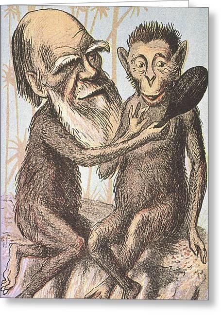 Charles Darwin (1809-1882) Greeting Card