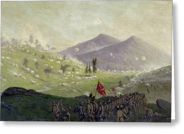 Civil War Gettysburg, 1863 Greeting Card by Granger
