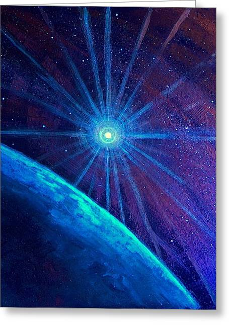 Cosmic Light Series Greeting Card