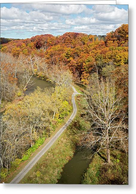 Cuyahoga Valley National Park Greeting Card by Jim West