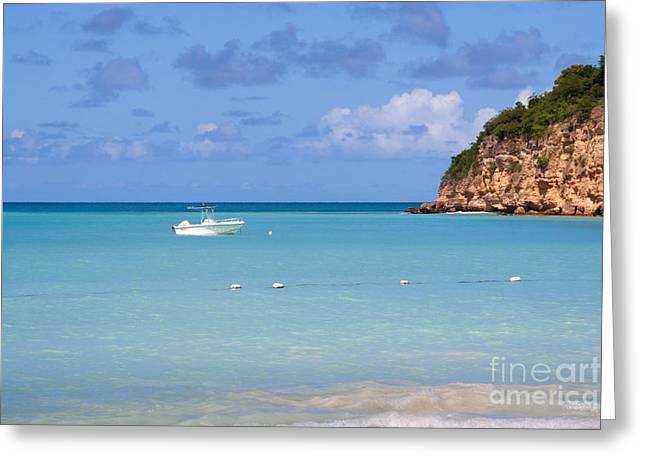Dickenson Bay Antigua Greeting Card