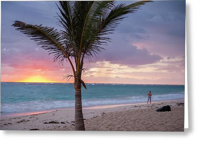 Dominican Republic, Punta Cana, Higuey Greeting Card