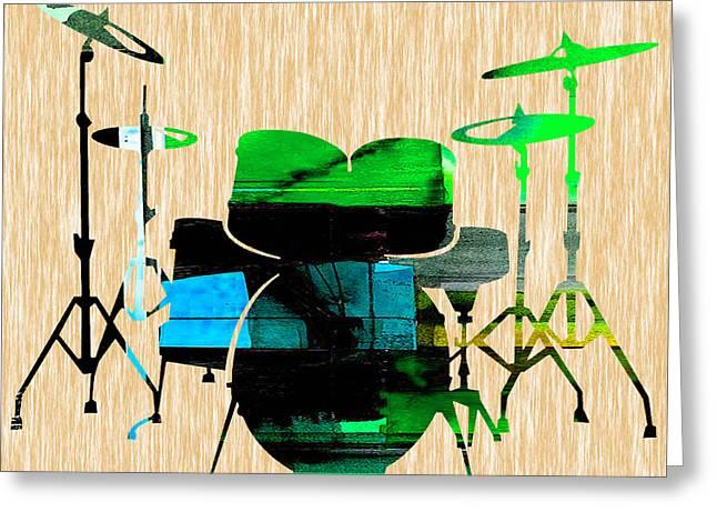 Drums Greeting Card
