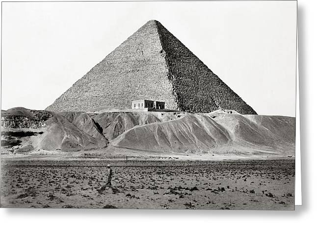 Egypt Cheops Pyramid Greeting Card