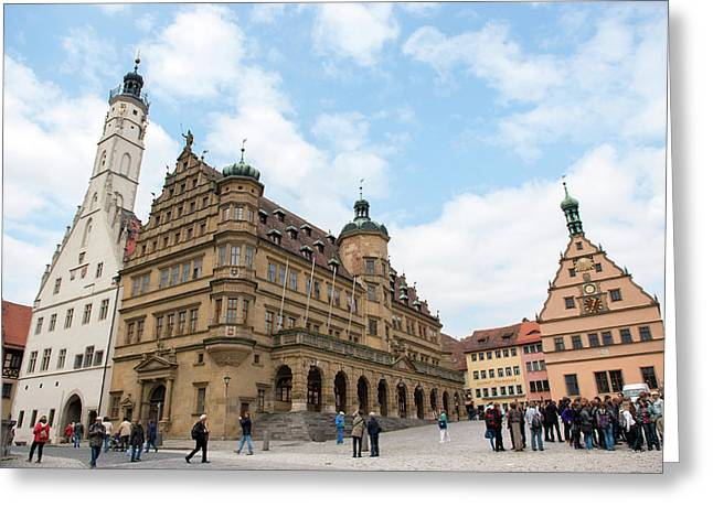 Europe, Germany, Baden-wurttemberg Greeting Card by Jim Engelbrecht