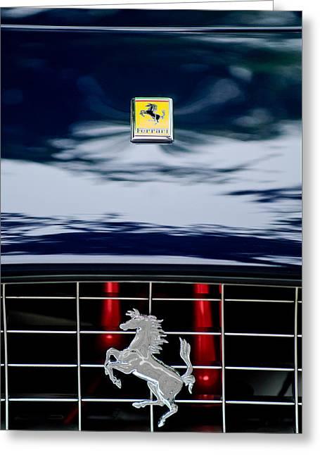 Ferrari Hood Emblem Greeting Card