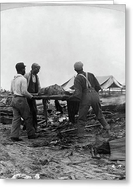 Galveston Hurricane, 1900 Greeting Card by Granger