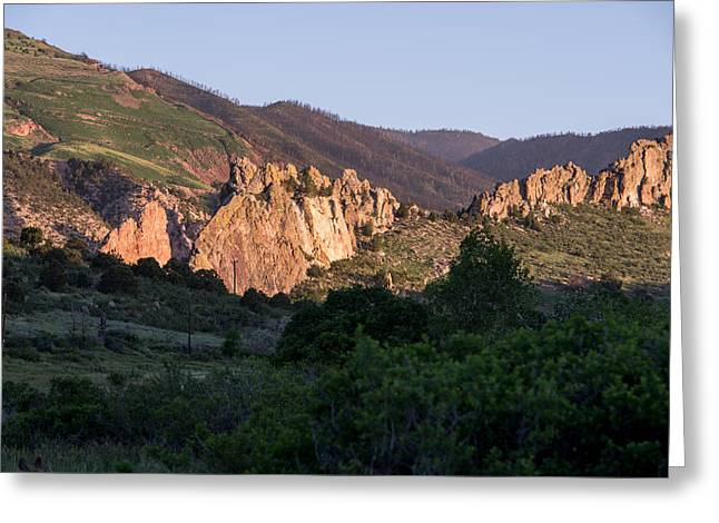 Garden Of The Gods Series Greeting Card