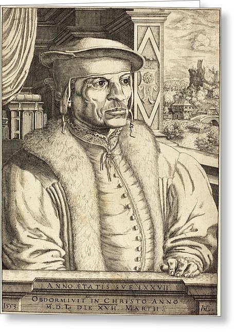 Hans Sebald Lautensack German, 1524 - 1561-1566 Greeting Card