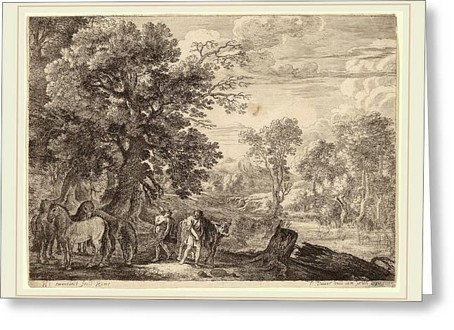 Herman Van Swanevelt Dutch Greeting Card