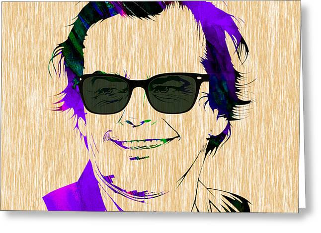 Jack Nicholson Collection Greeting Card