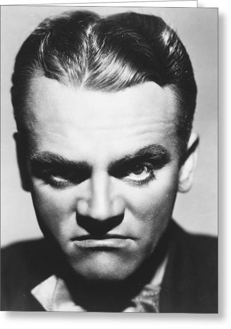 James Cagney Greeting Card by Silver Screen