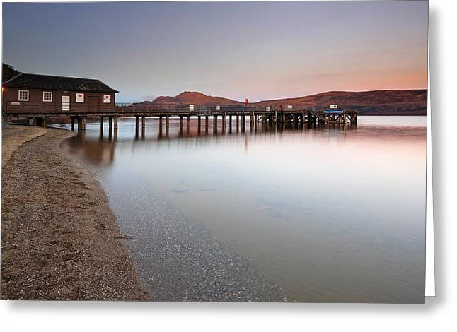 Loch Lomond Jetty Greeting Card