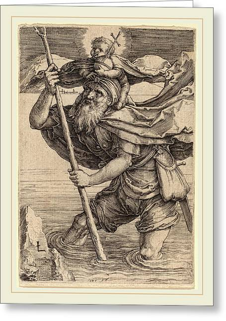 Lucas Van Leyden Netherlandish, 1489-1494-1533 Greeting Card