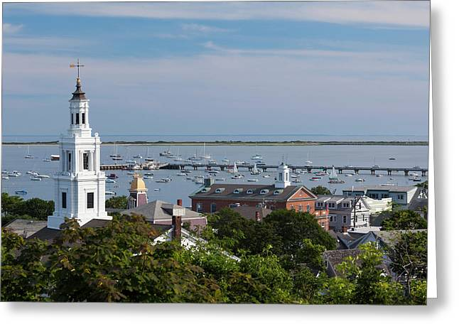 Massachusetts, Cape Cod, Provincetown Greeting Card