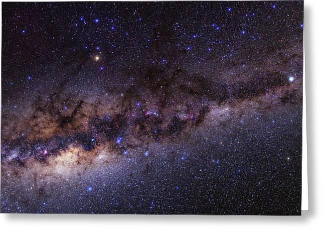 Milky Way Over The Atacama Desert Greeting Card
