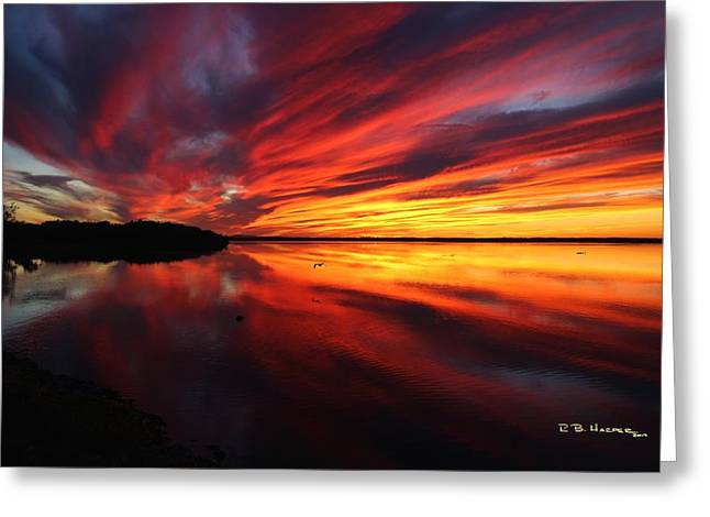 Missisquoi Sunset Greeting Card