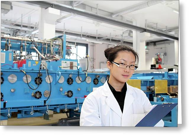 Optical Products Plant Greeting Card
