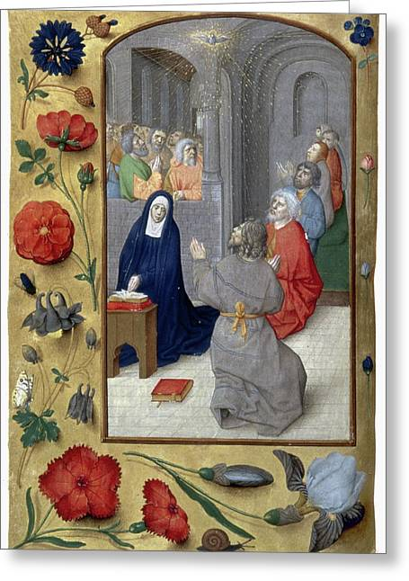 Pentecost Greeting Card by Granger