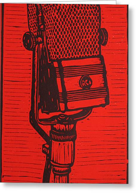 Rca 44 Greeting Card by William Cauthern
