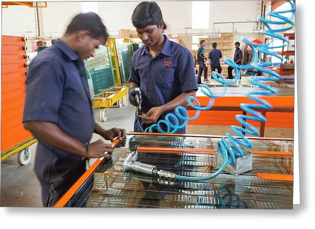 The Kamal Factory In Bangalore Greeting Card