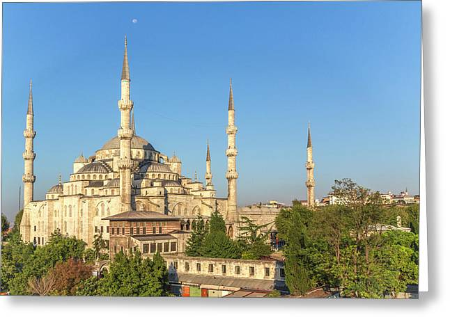 Turkey, Istanbul Greeting Card by Emily Wilson
