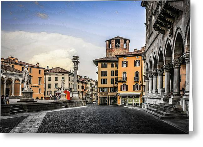 Udine Greeting Card by Chris Smith