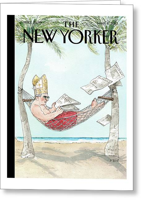New Yorker March 11th, 2013 Greeting Card